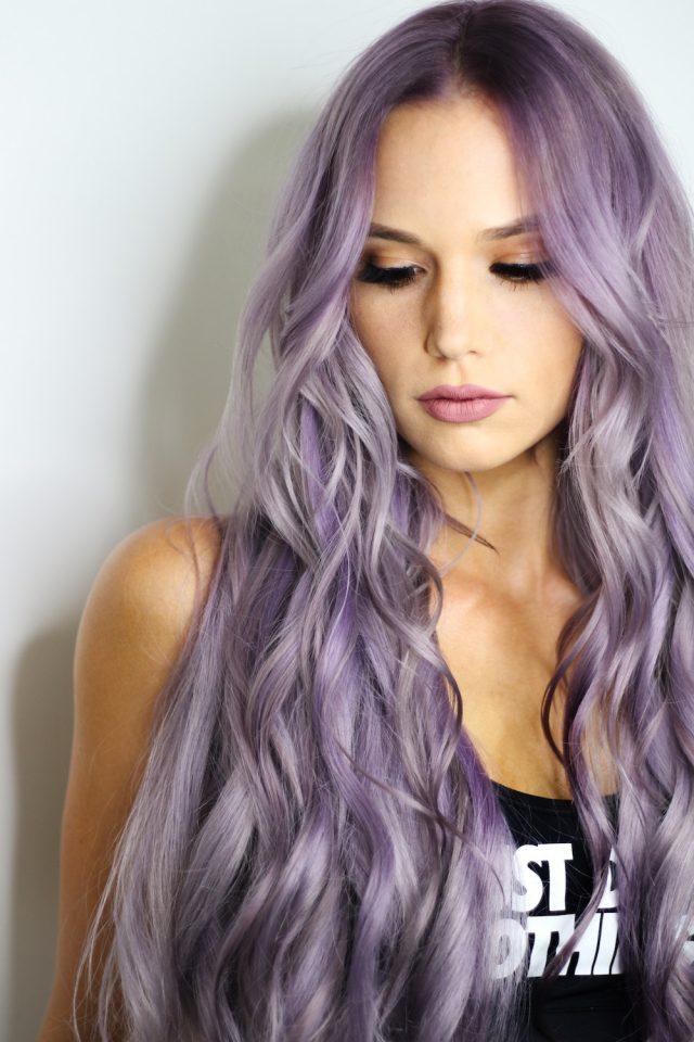 Lavender hair ::swoon::