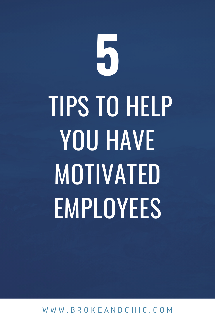 motivated employees