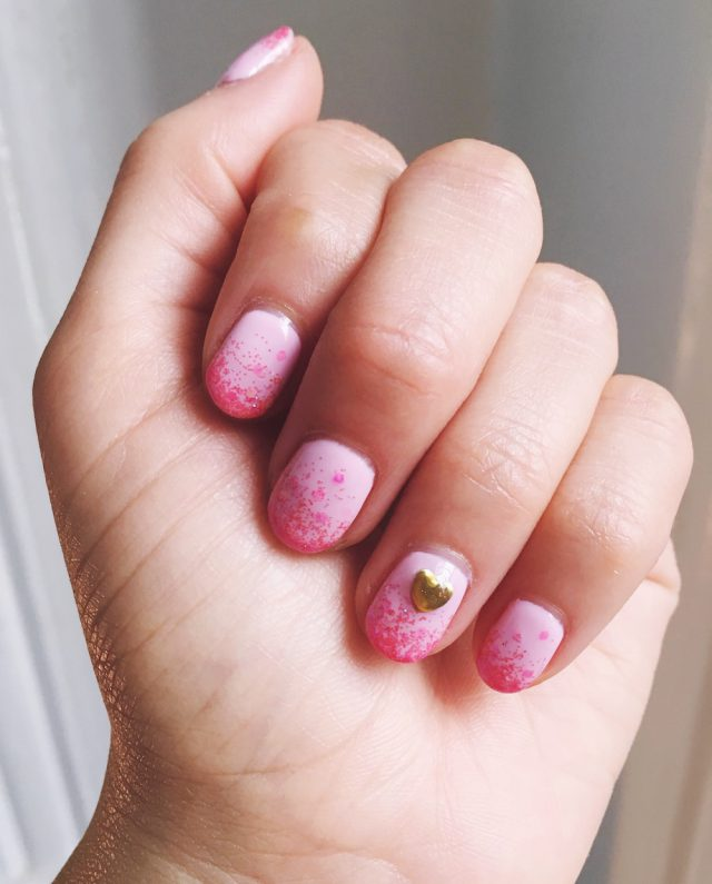 Nail art perfect for Valentine's Day