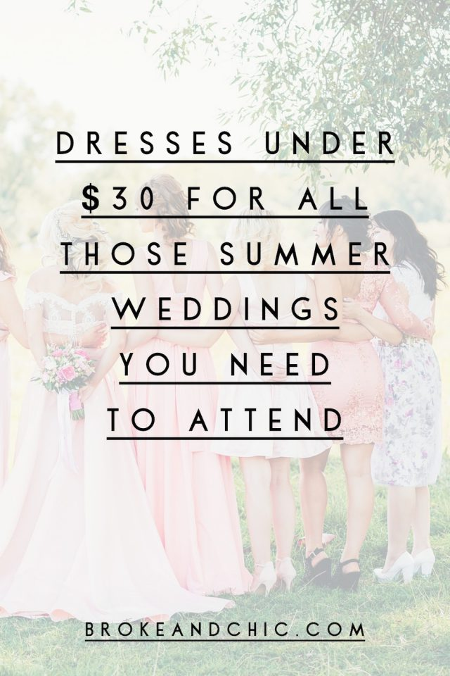 Dresses under $30 from SHEIN for All Those Summer Weddings You Need to Attend