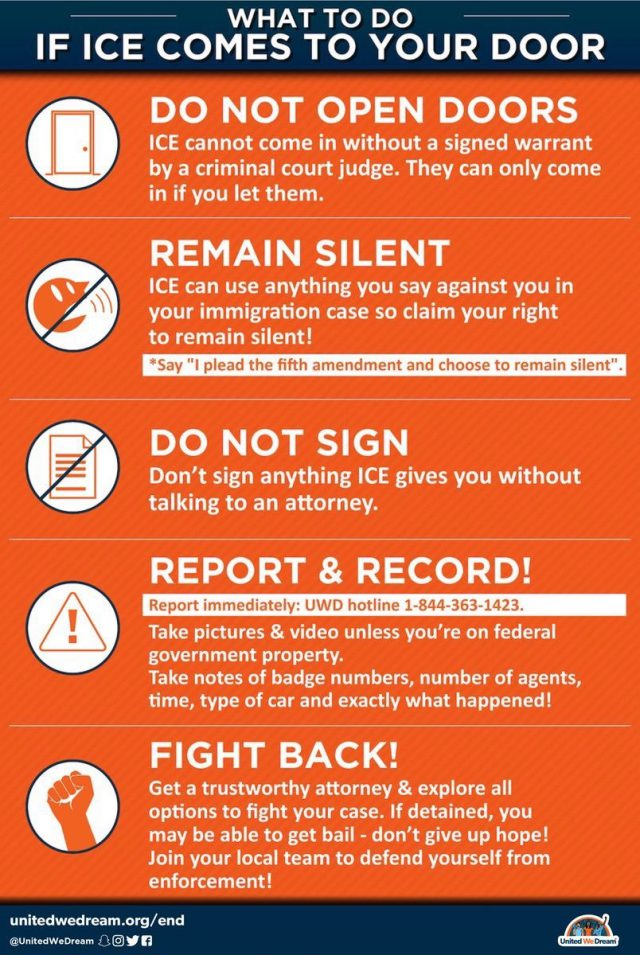 How to protect yourself from ICE deportation raids