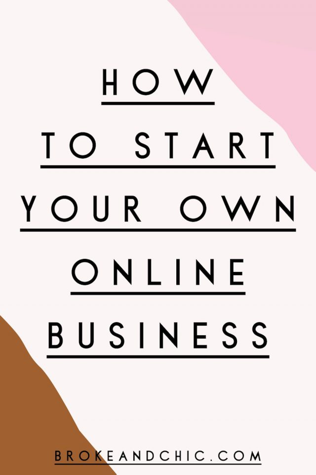 Career Advice: How to Start Your Own Online Business