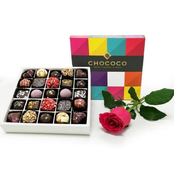 Say It With Chocolate: A Present for Your Paramour!