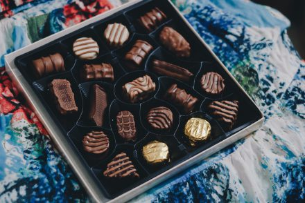 Say It With Chocolate: A Present for Your Partner!