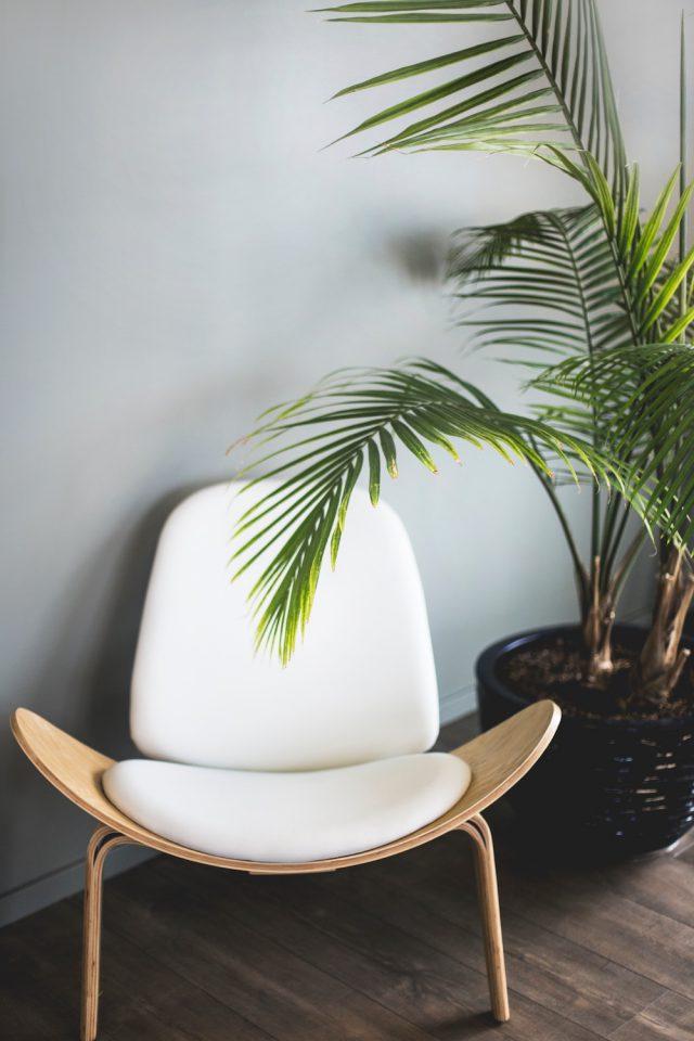 Sleek modern chair