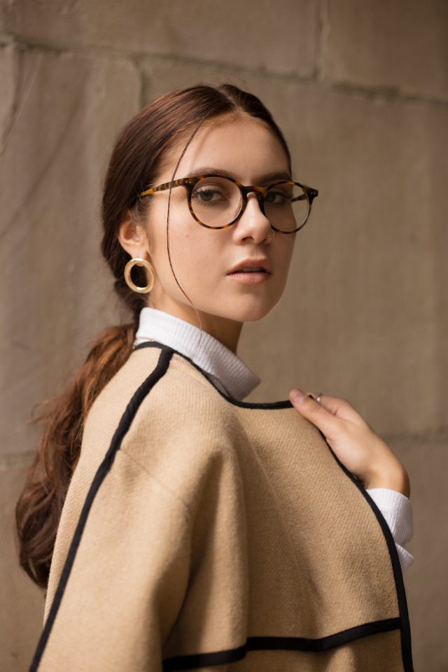 How to look good in tortoiseshell glasses
