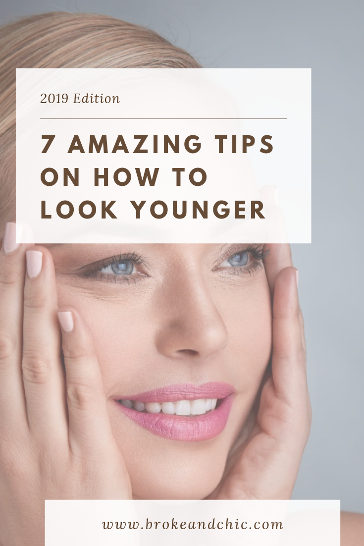 ways to look younger