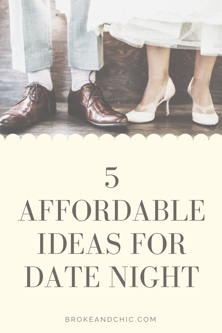 5 Affordable Ideas For Date Night