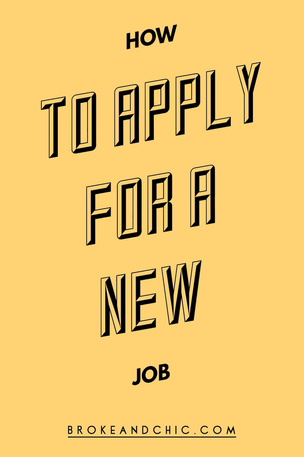 How To Apply For A New Job