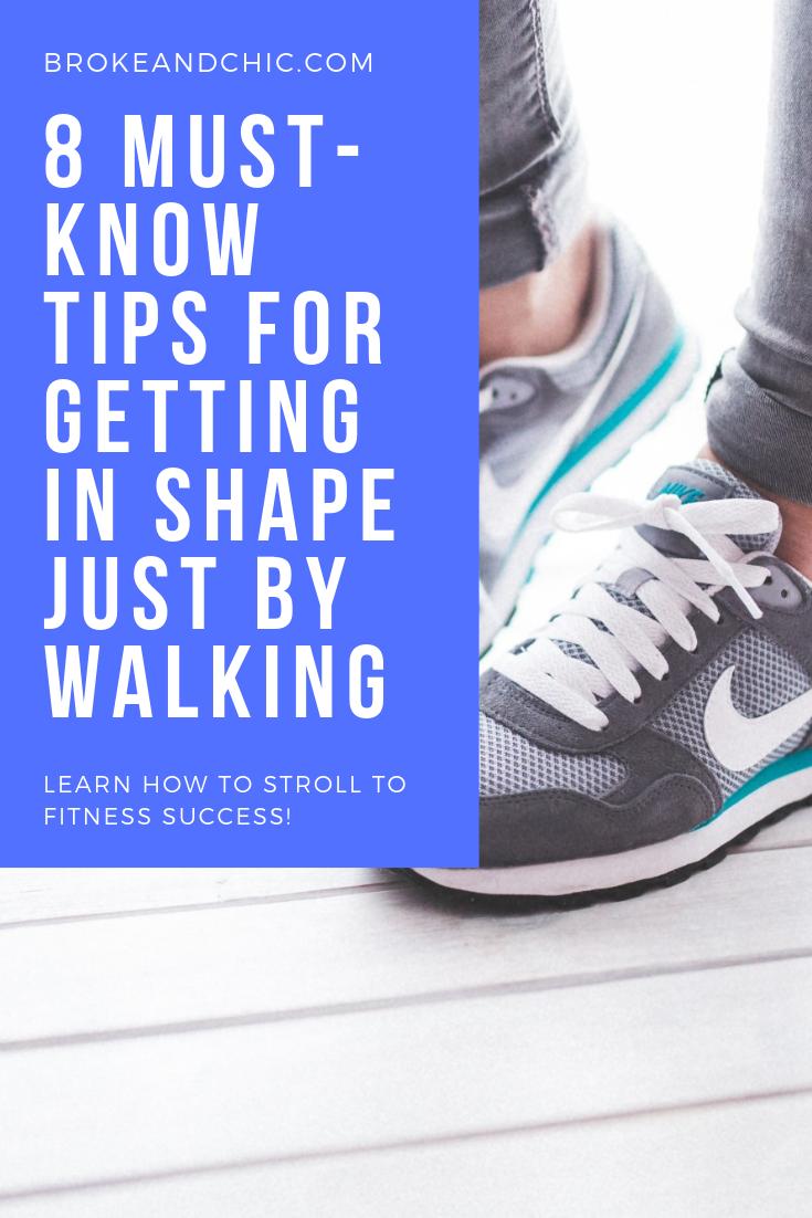 getting in shape just by walking