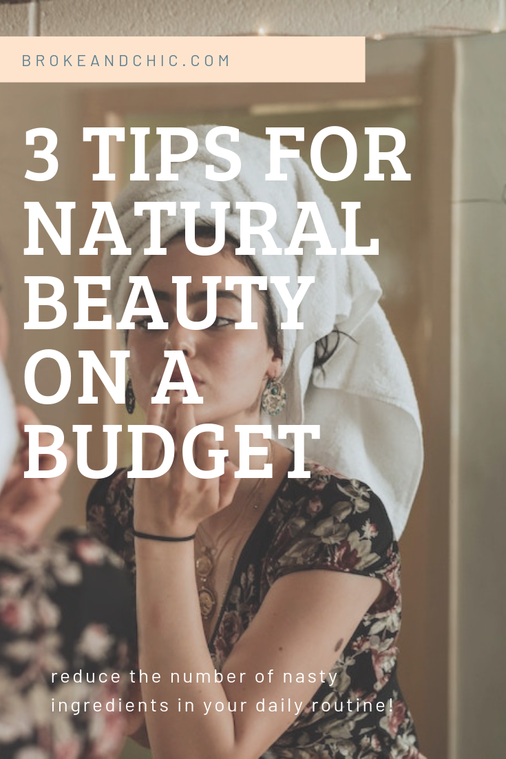 natural beauty on a budget