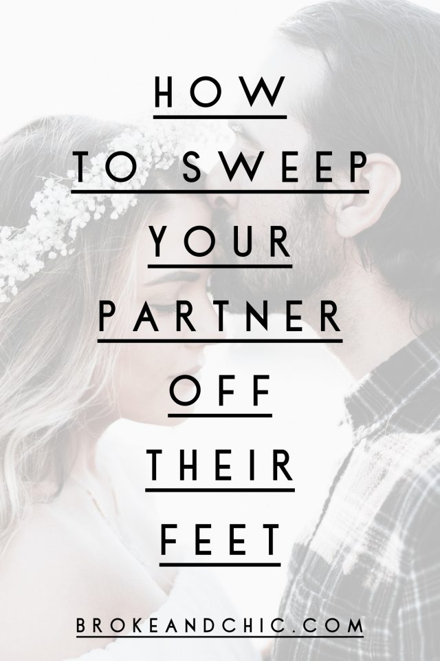 How to Sweep Your Partner Off Their Feet