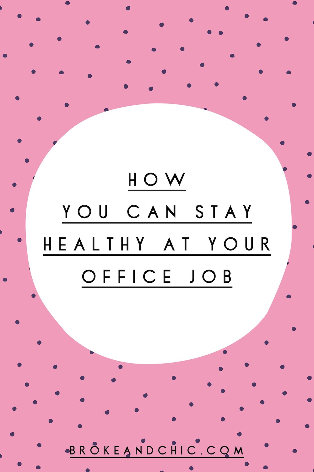 The Desk Life: How You Can Stay Healthy At Your Office Job