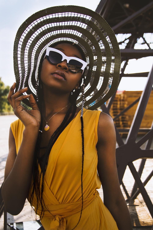 black and white statement sunglasses