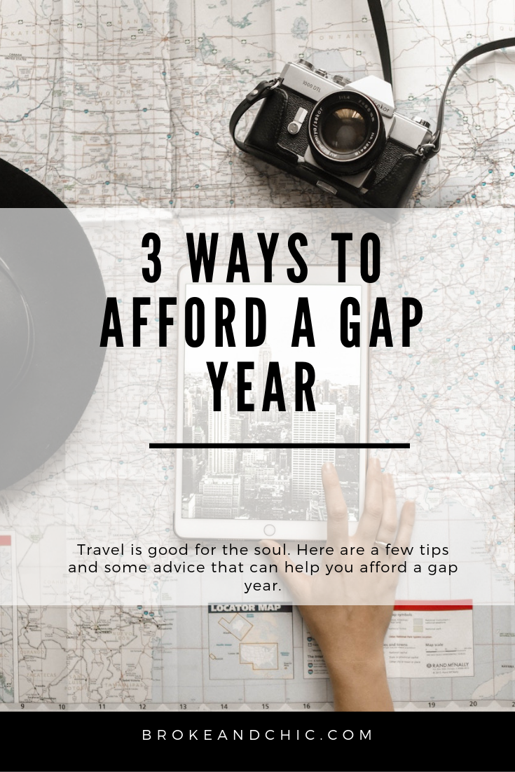 3 Ways to Afford a Gap Year