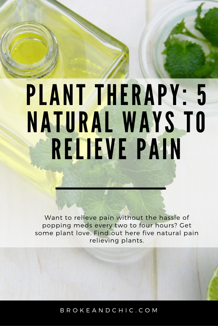natural ways to relieve pain