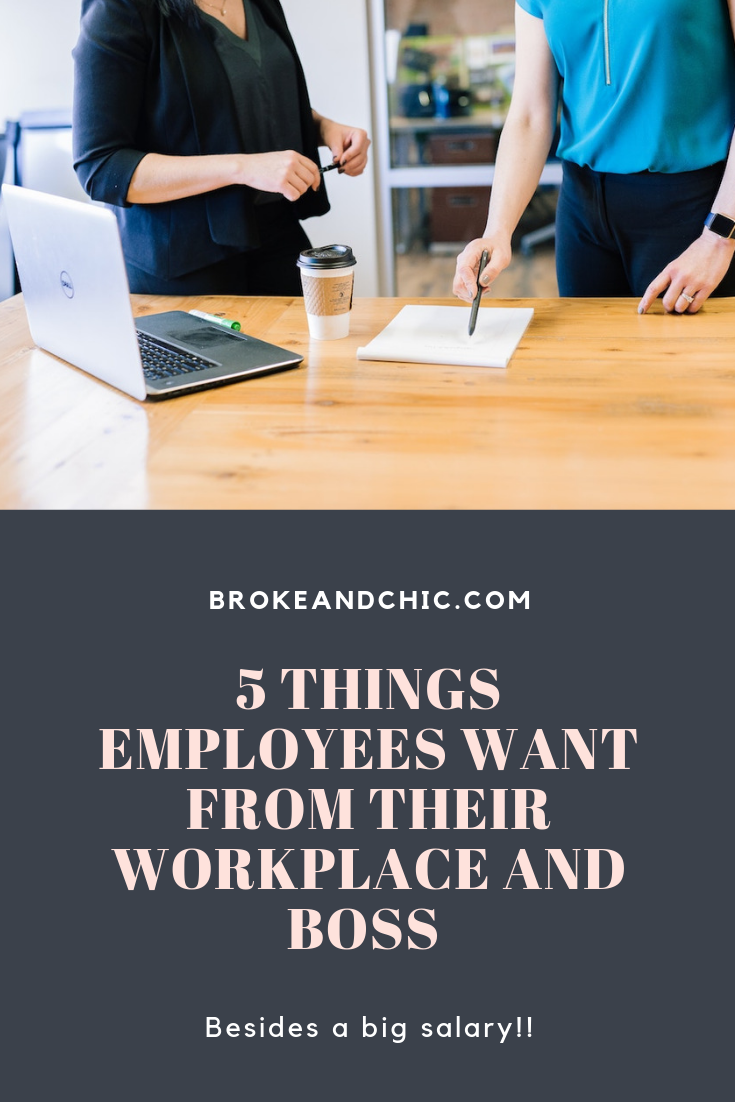 Things Employees Look for Rather Than Salary