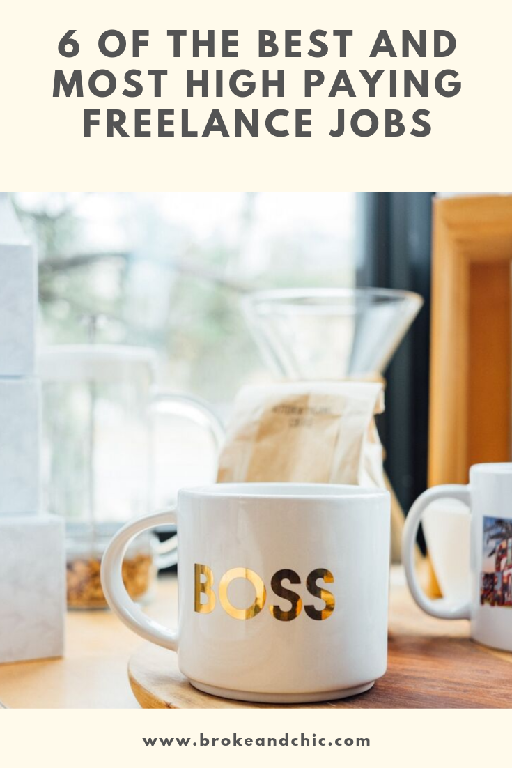 6 of the Best and Most High Paying Freelance Jobs