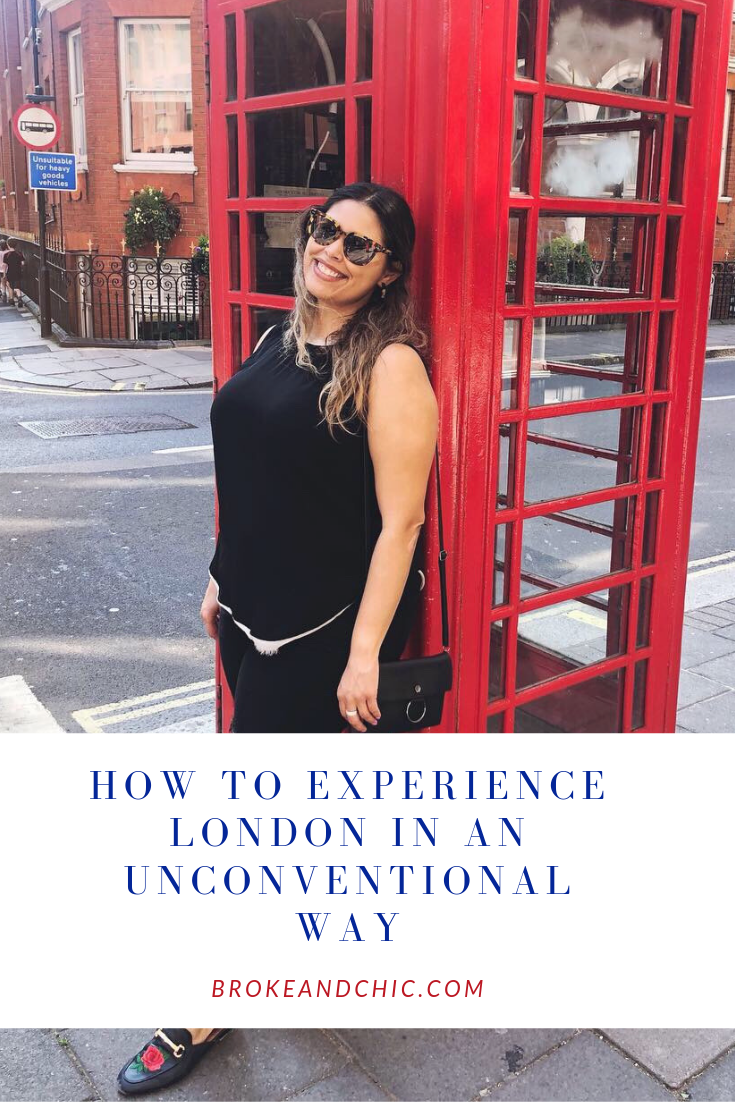 How to Experience London in an Unconventional Way