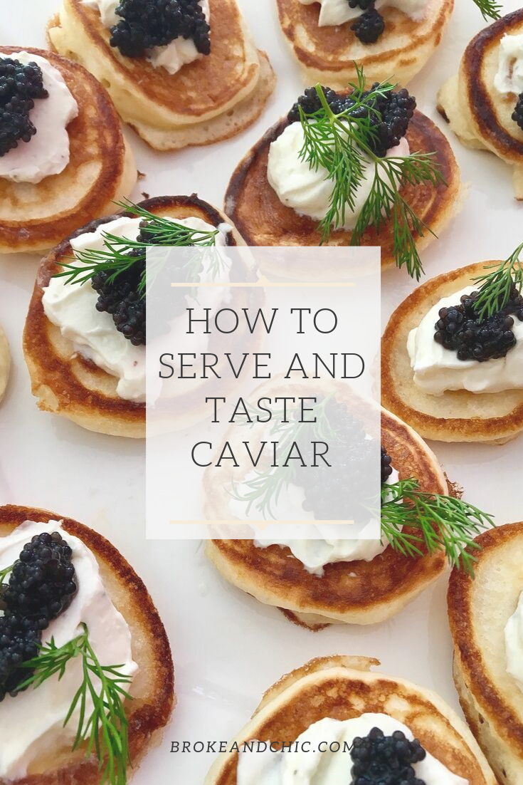 How to Serve and Taste Caviar