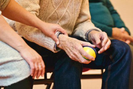 working with the elderly