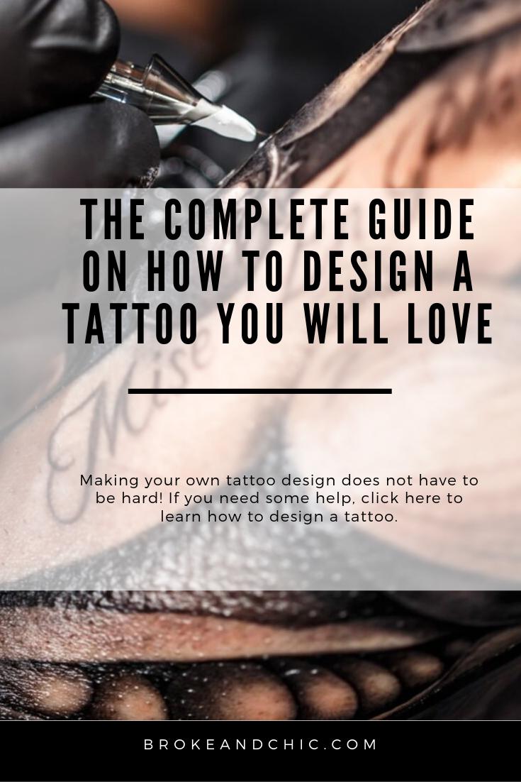 how to design a tattoo