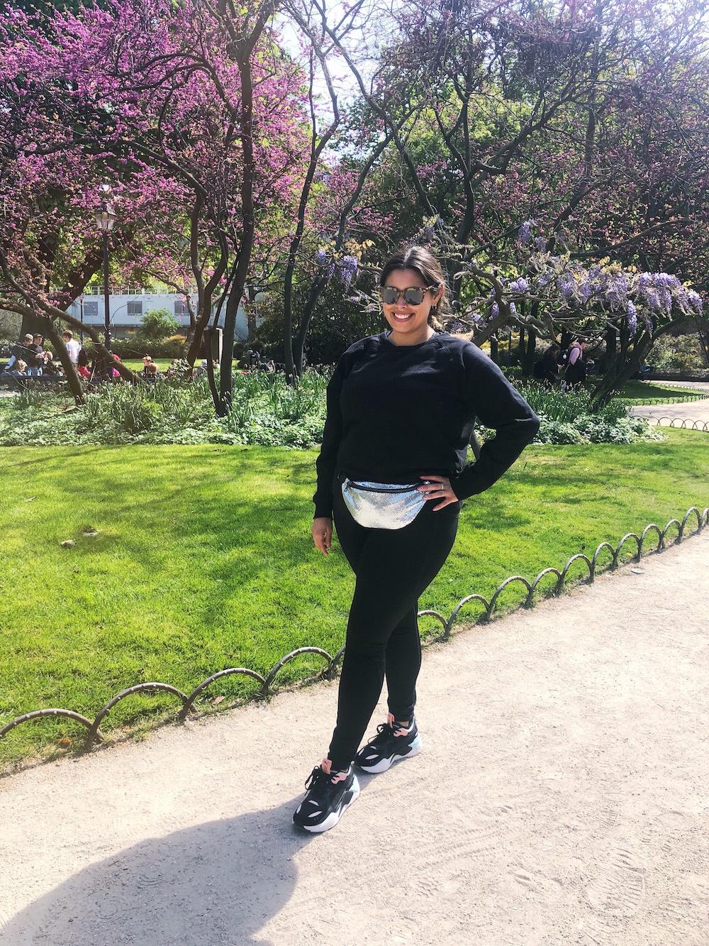 Running in Hyde Park