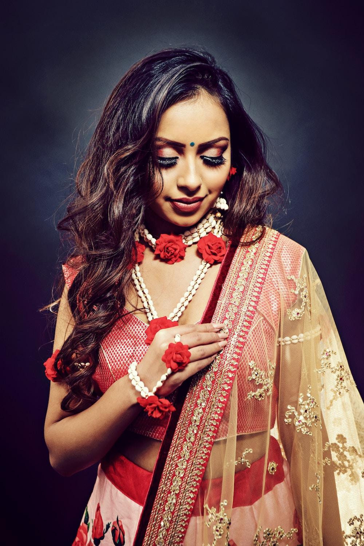 Indian wedding makeup look