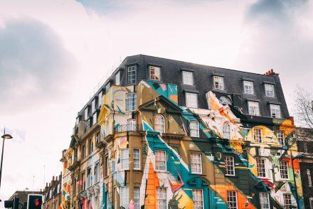 Following Fashion in Shoreditch, London