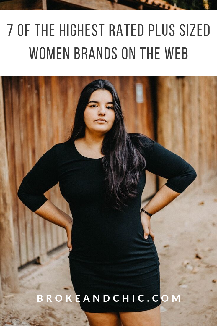 7 Of the Highest Rated Plus Sized Women Brands on the Web
