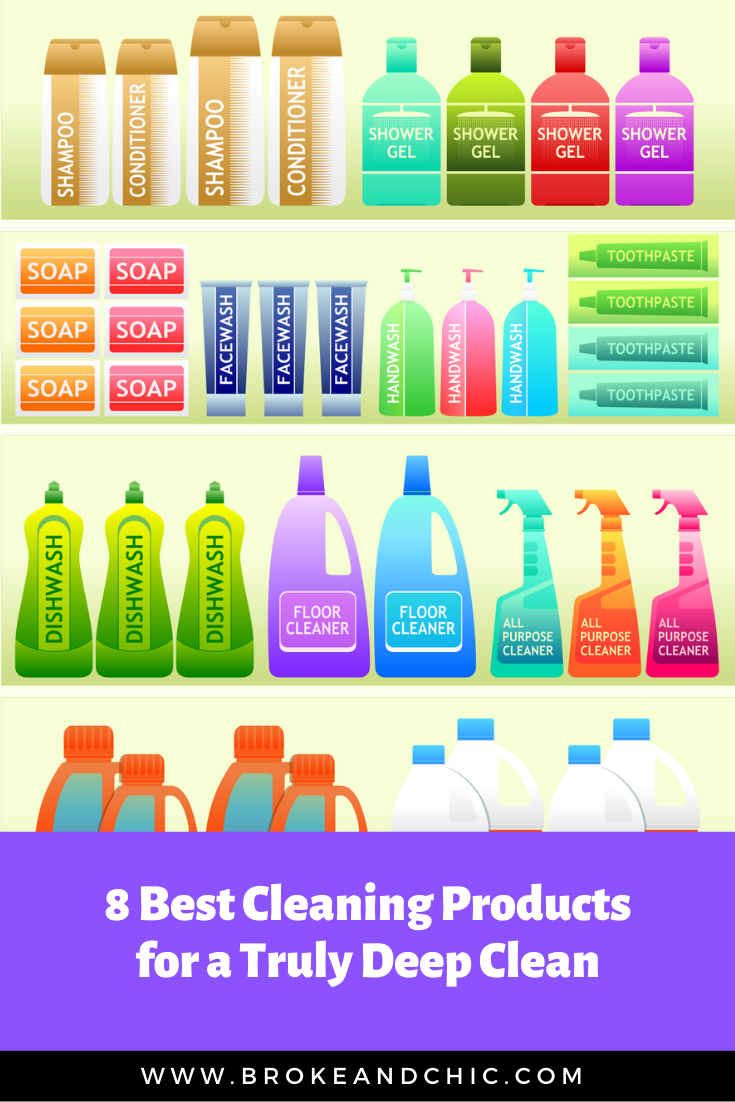8 Best Cleaning Products for a Truly Deep Clean