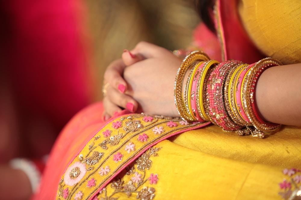 Rajasthani designer bangles