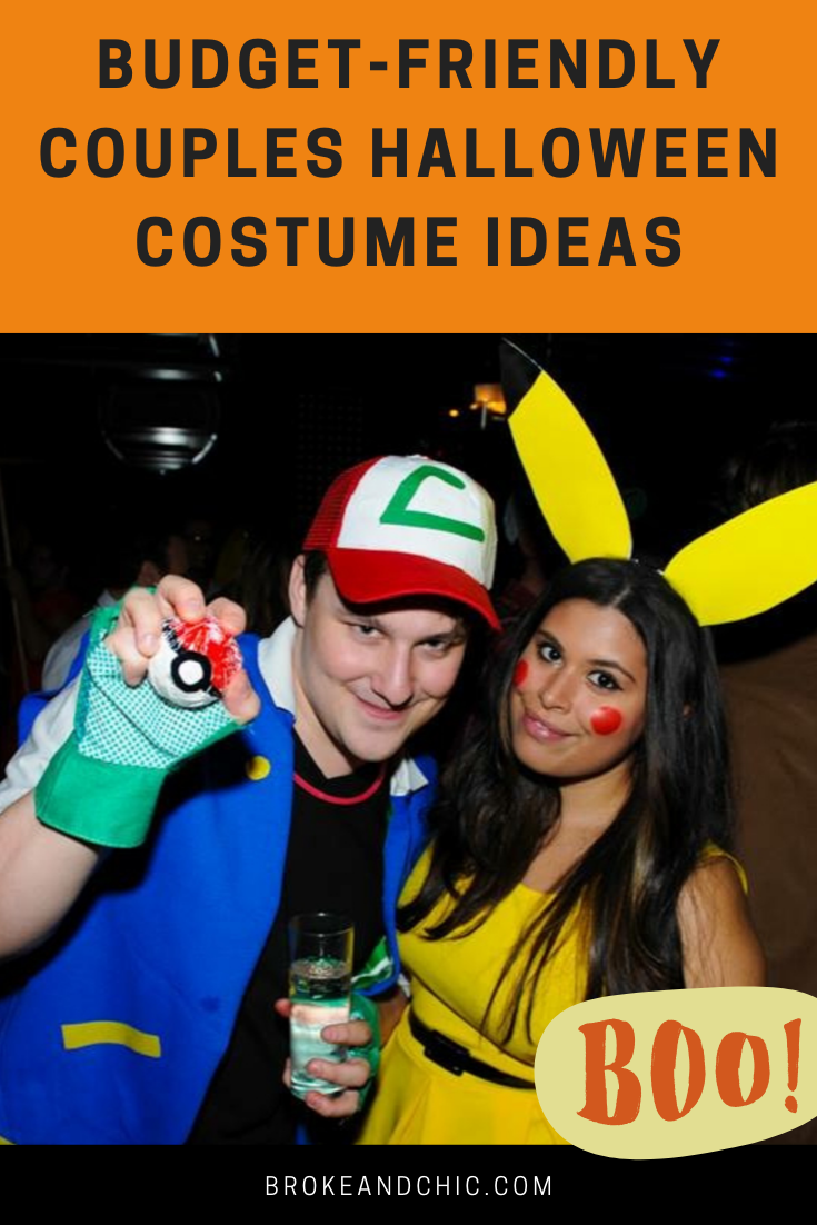 affordable couples halloween costume ideas