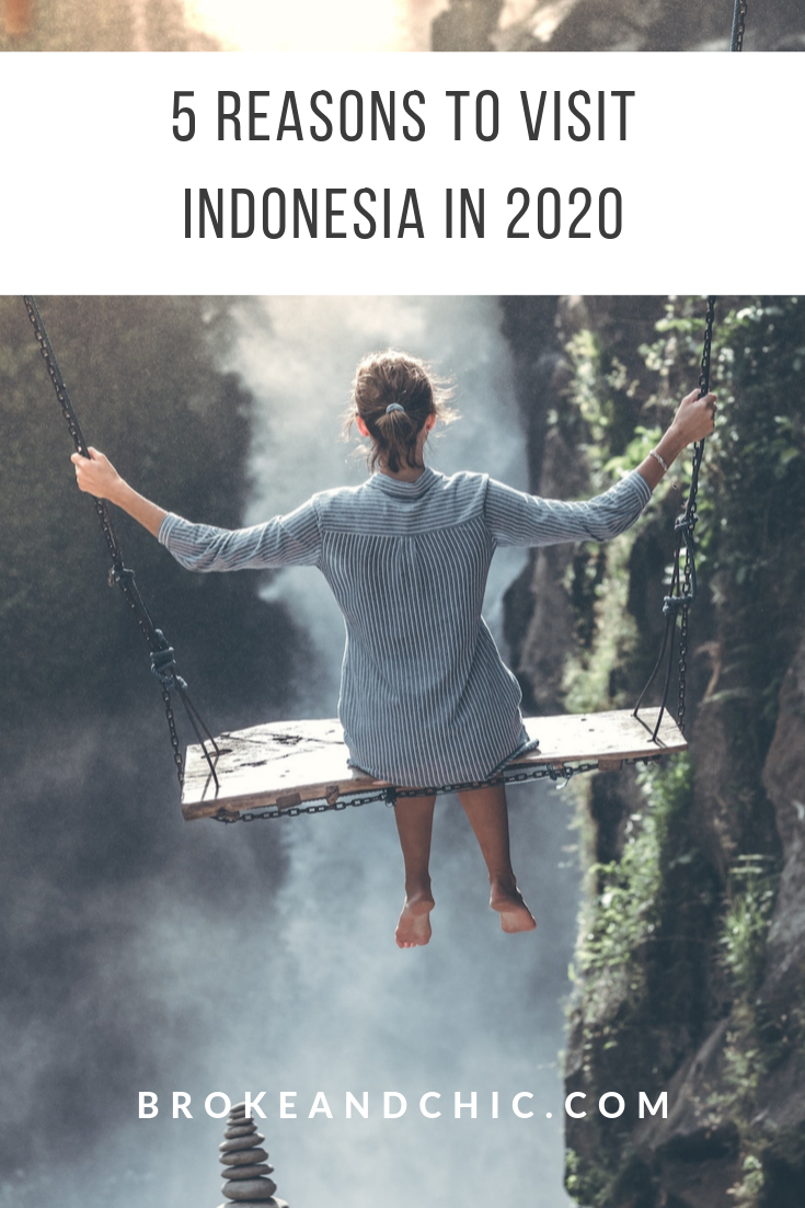Reasons to travel to indonesia