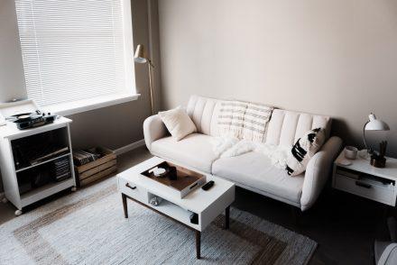 chic urban living room