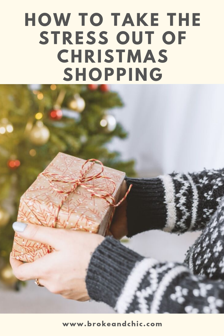 Take the Stress out of Christmas Shopping