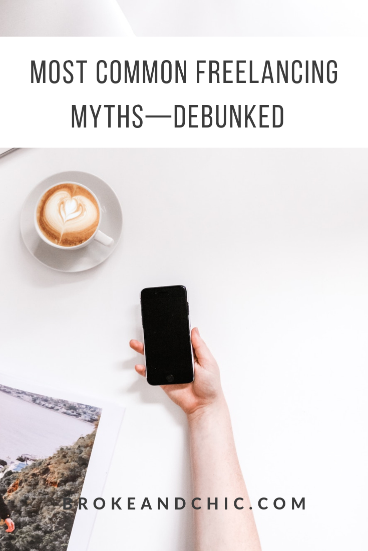 freelancing myths debunked