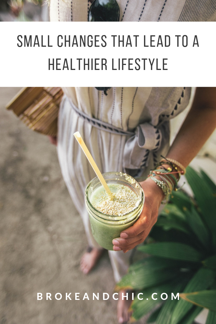 Small Changes That Lead to a Healthier Lifestyle