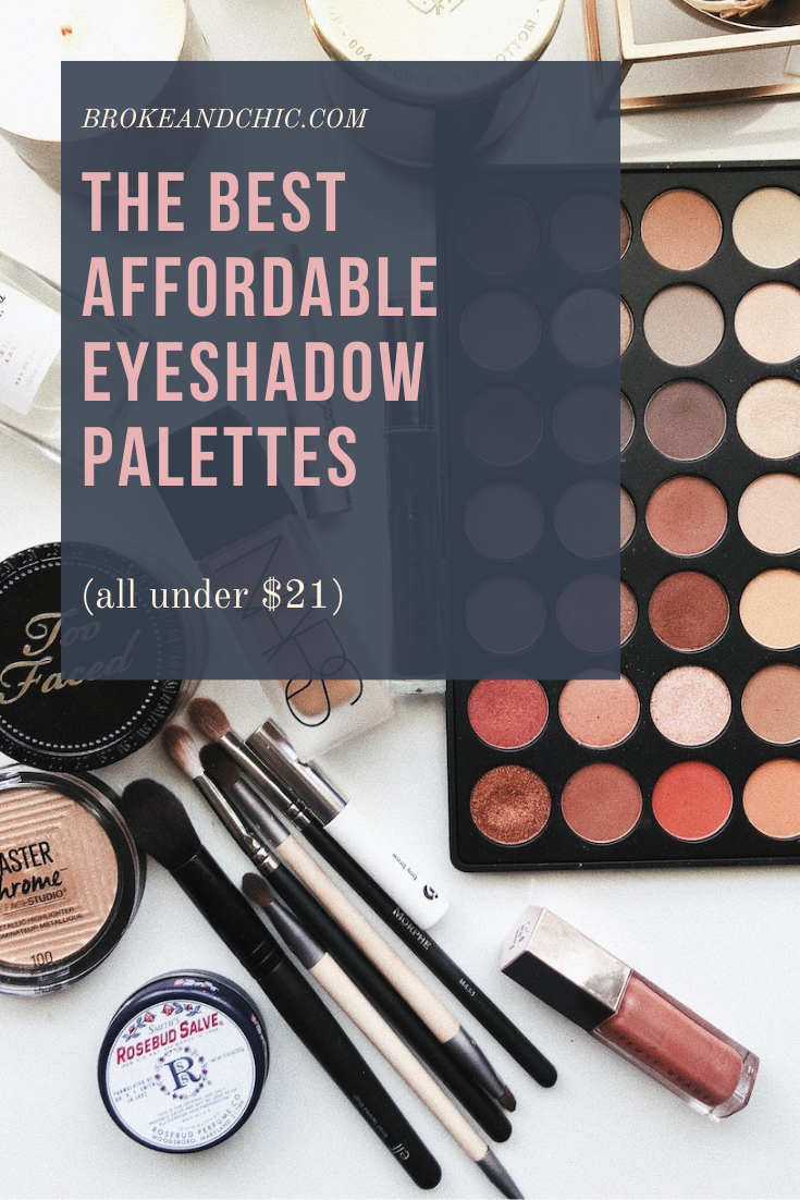 The Best Affordable Eyeshadow Palettes (all under $21)