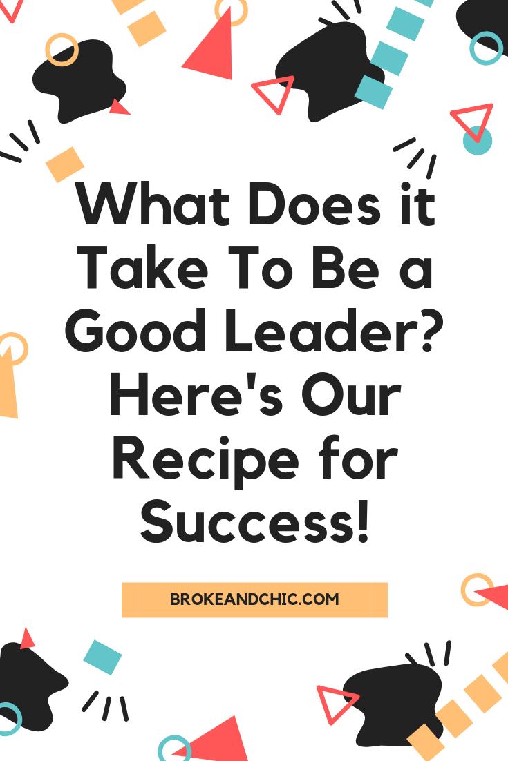 Traits That Make a Fantastic Leader