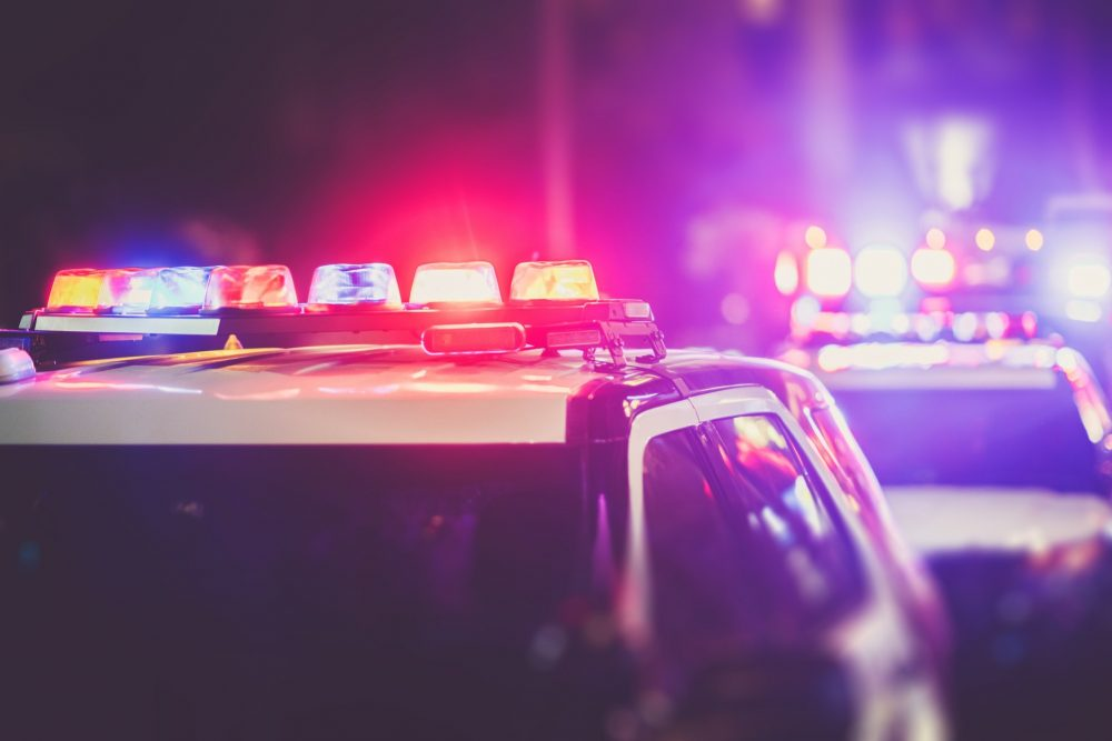 Police DUI Checkpoint