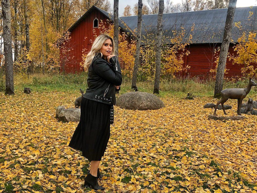 ootd post in Orebro sweden
