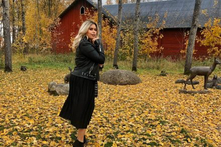 ootd post in Orebro sweden