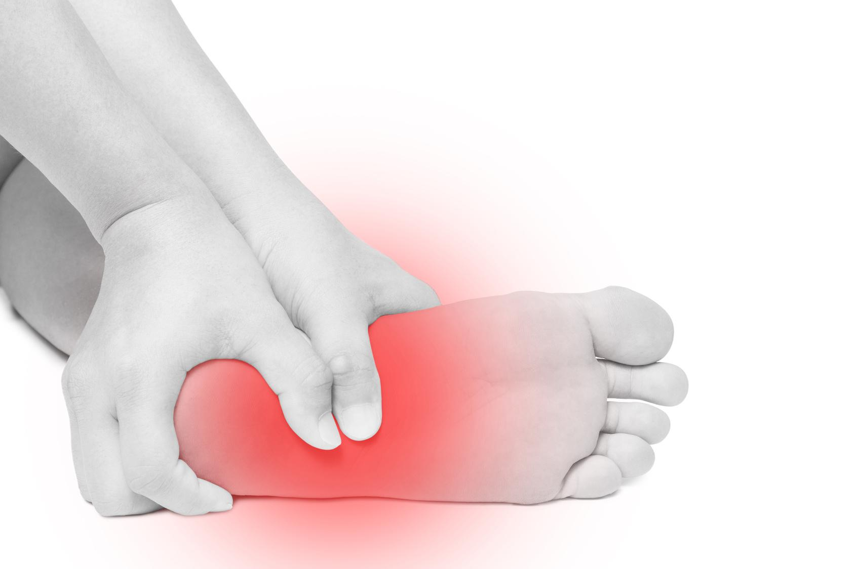 photo of mid foot pain