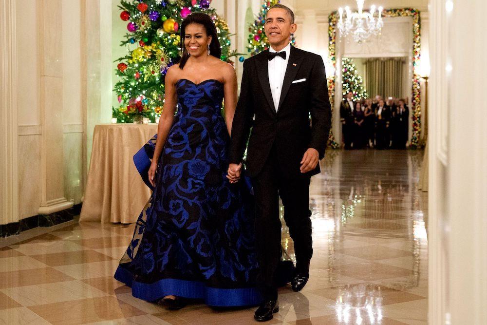 Michelle Obama gown
