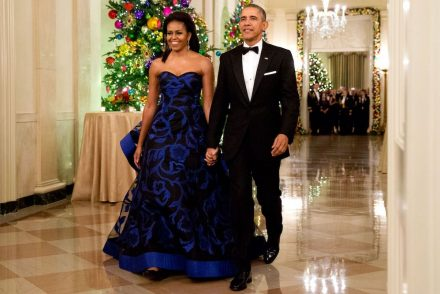 Michelle Obama gown