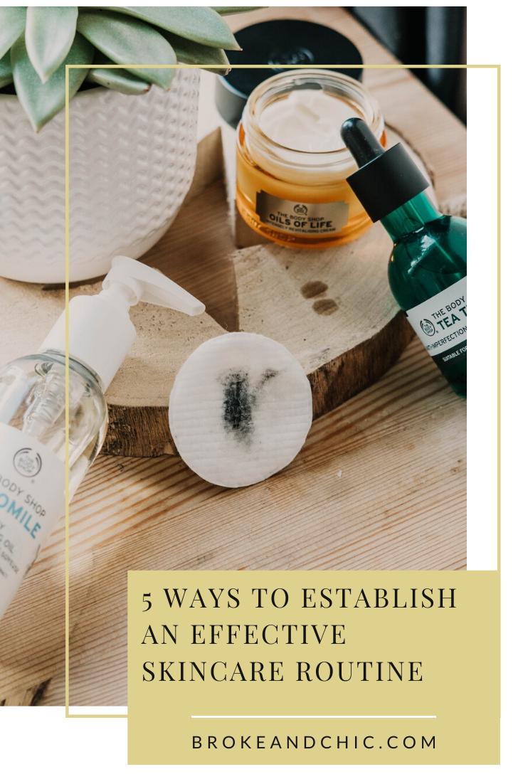 skincare routine ideas