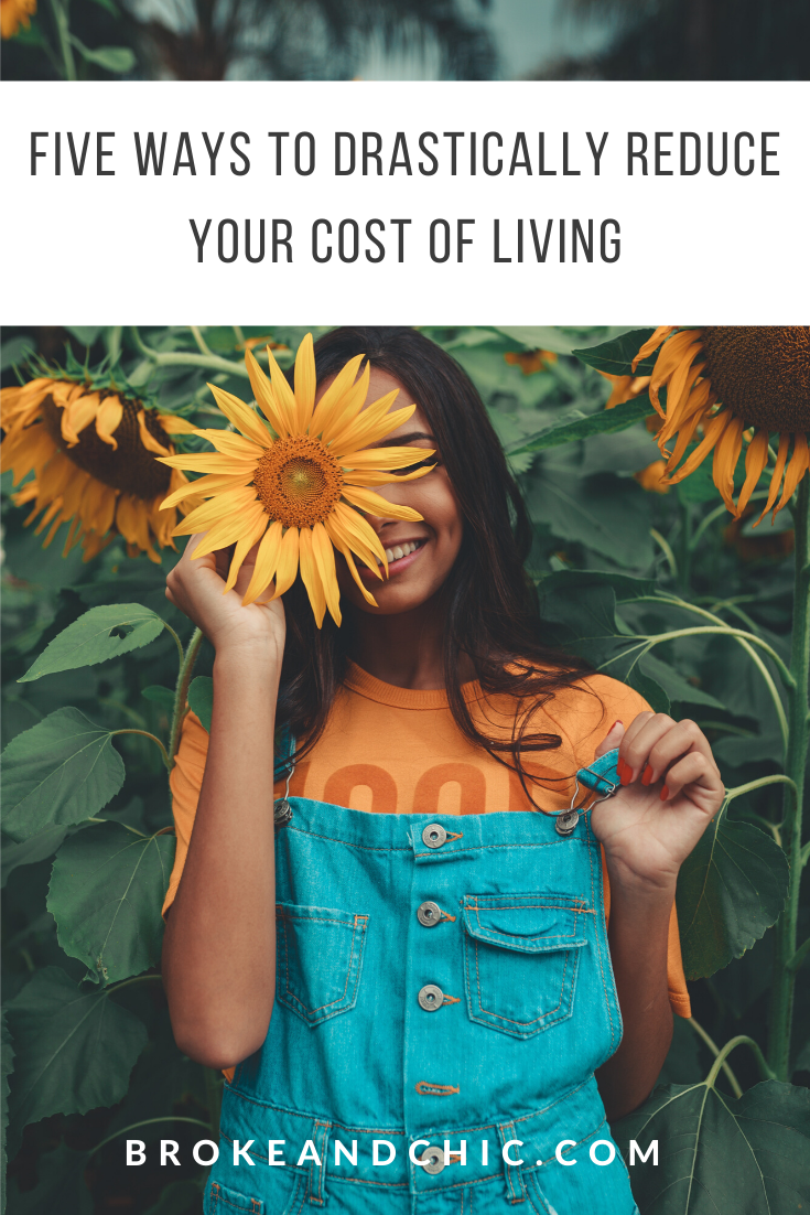ways to reduce your cost of living