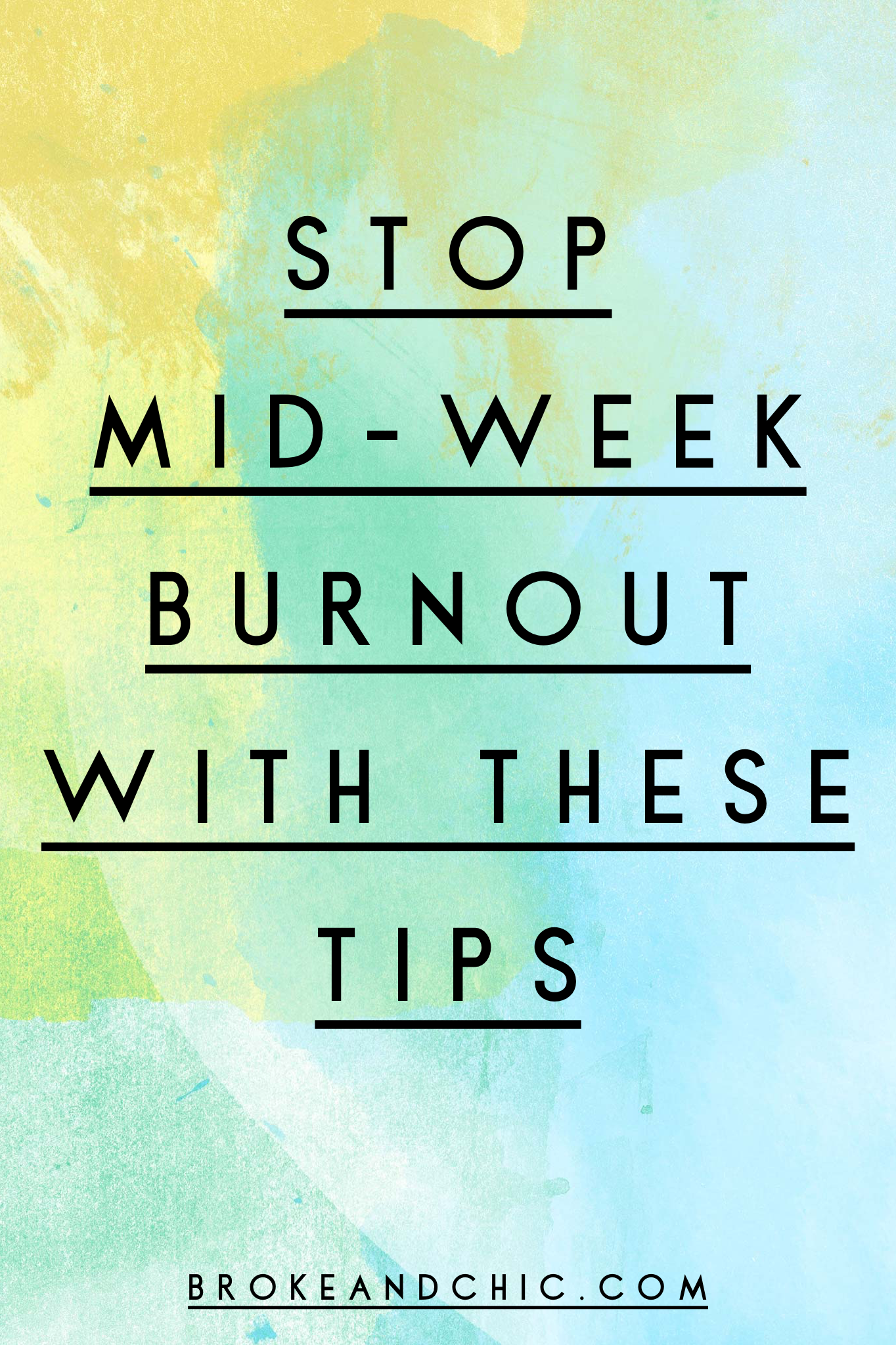 how to stop burnout