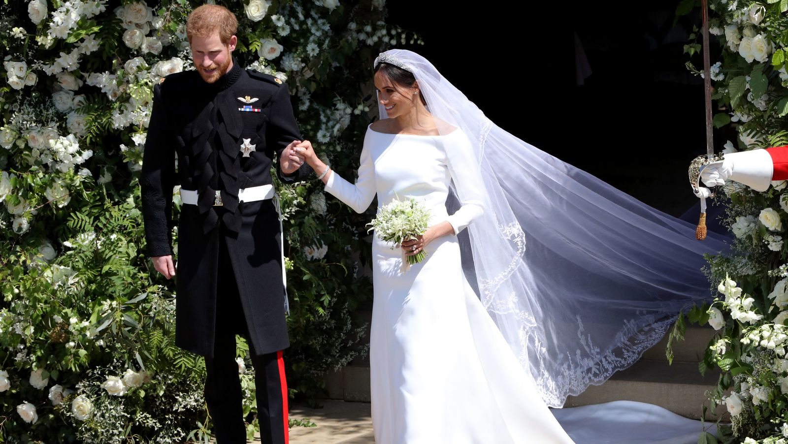 Meghan Markle's Stunning Wedding Dress